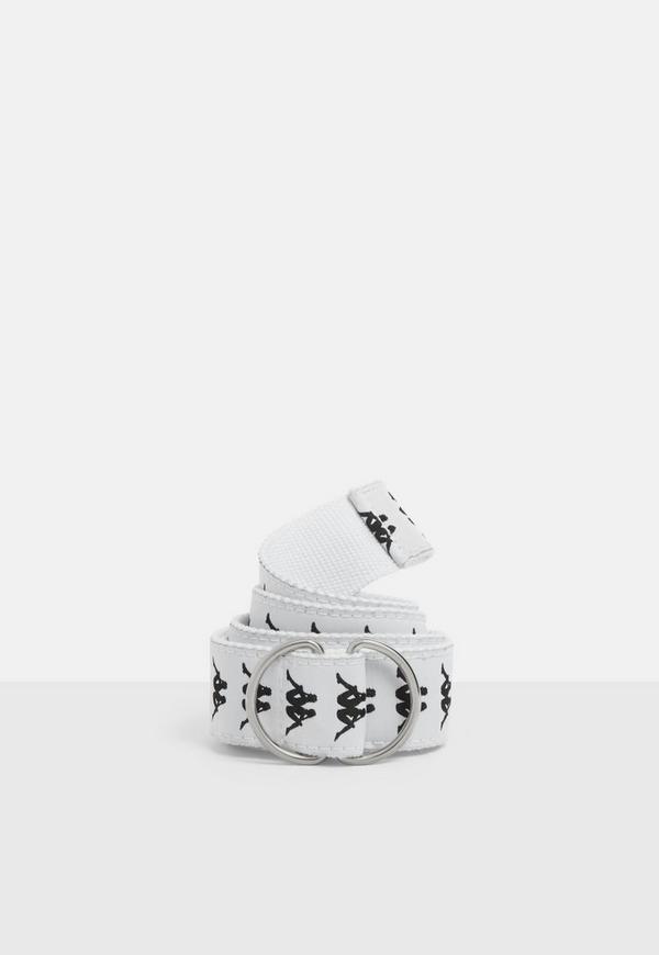 Kappa Authentic White Banda Belt