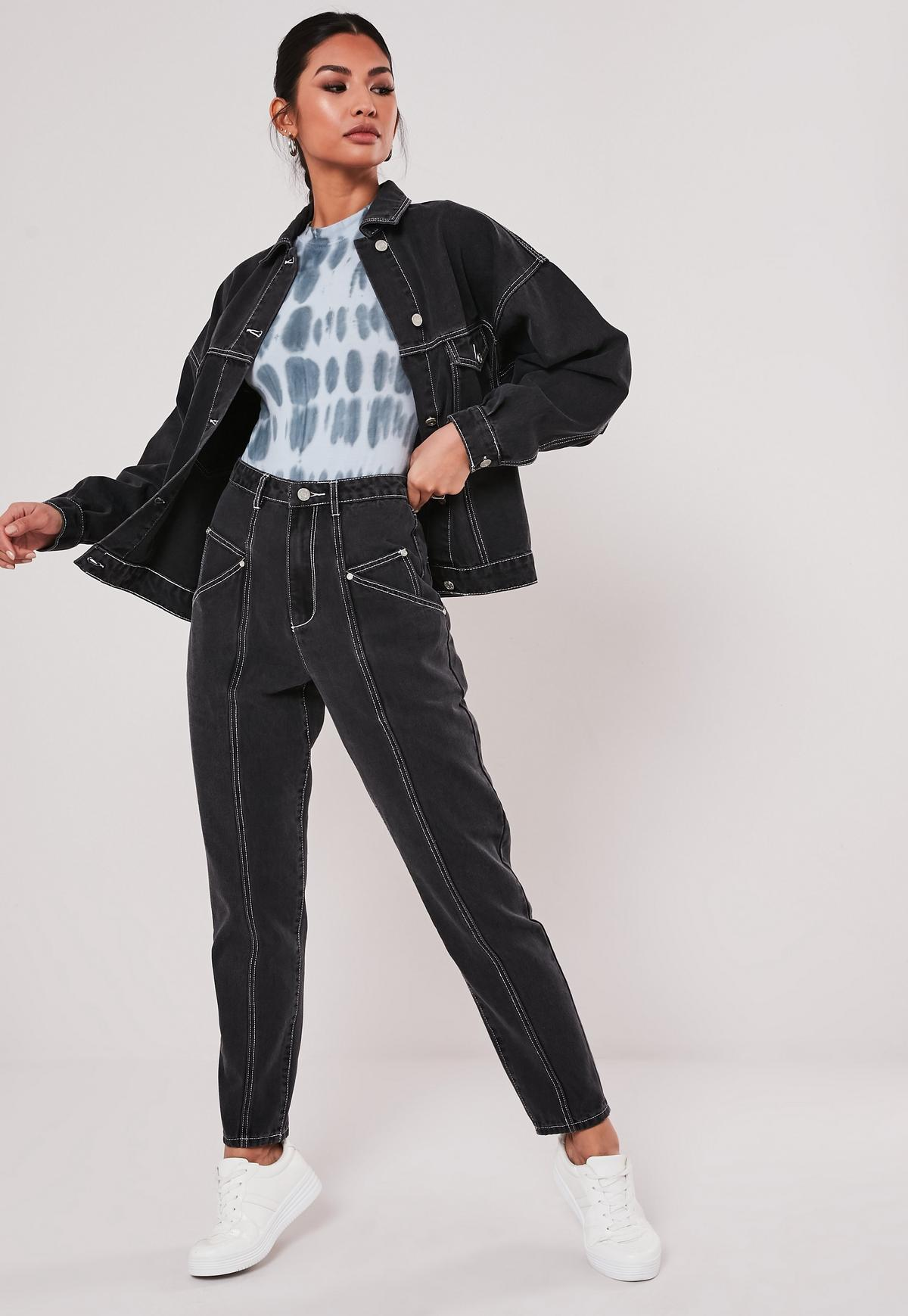Party outfit schwarze jeans