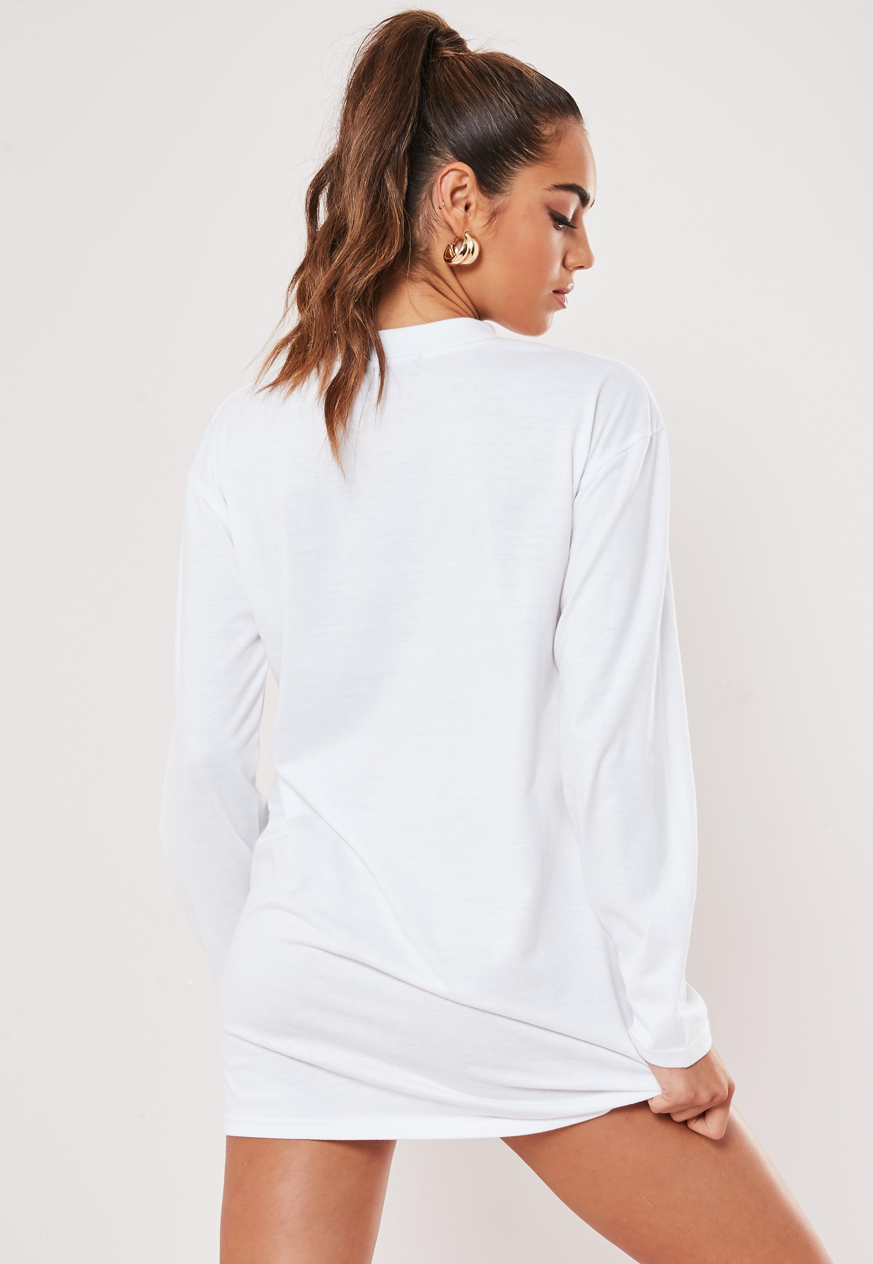 full sleeve t shirt dress