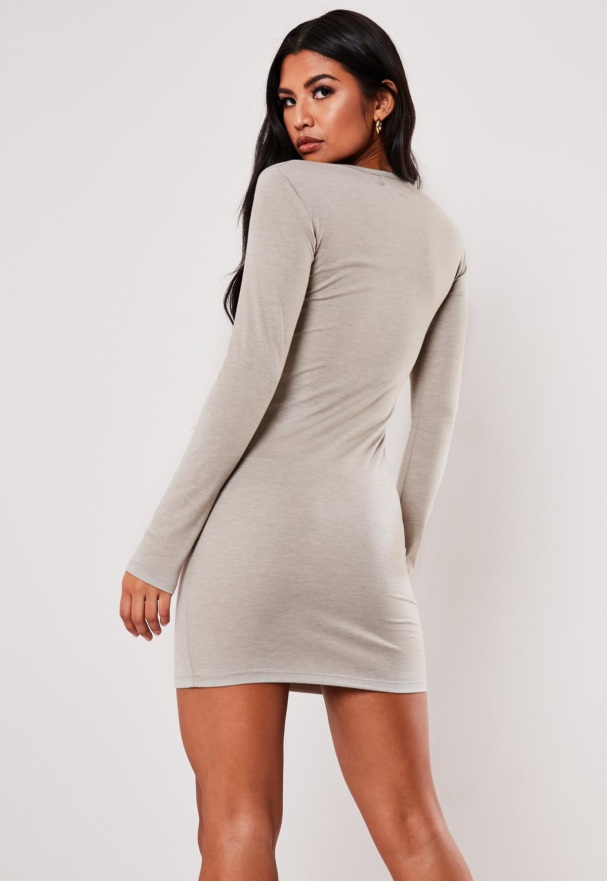 Jumia kenya bodycon dress long sleeve white gray shirt length london venice