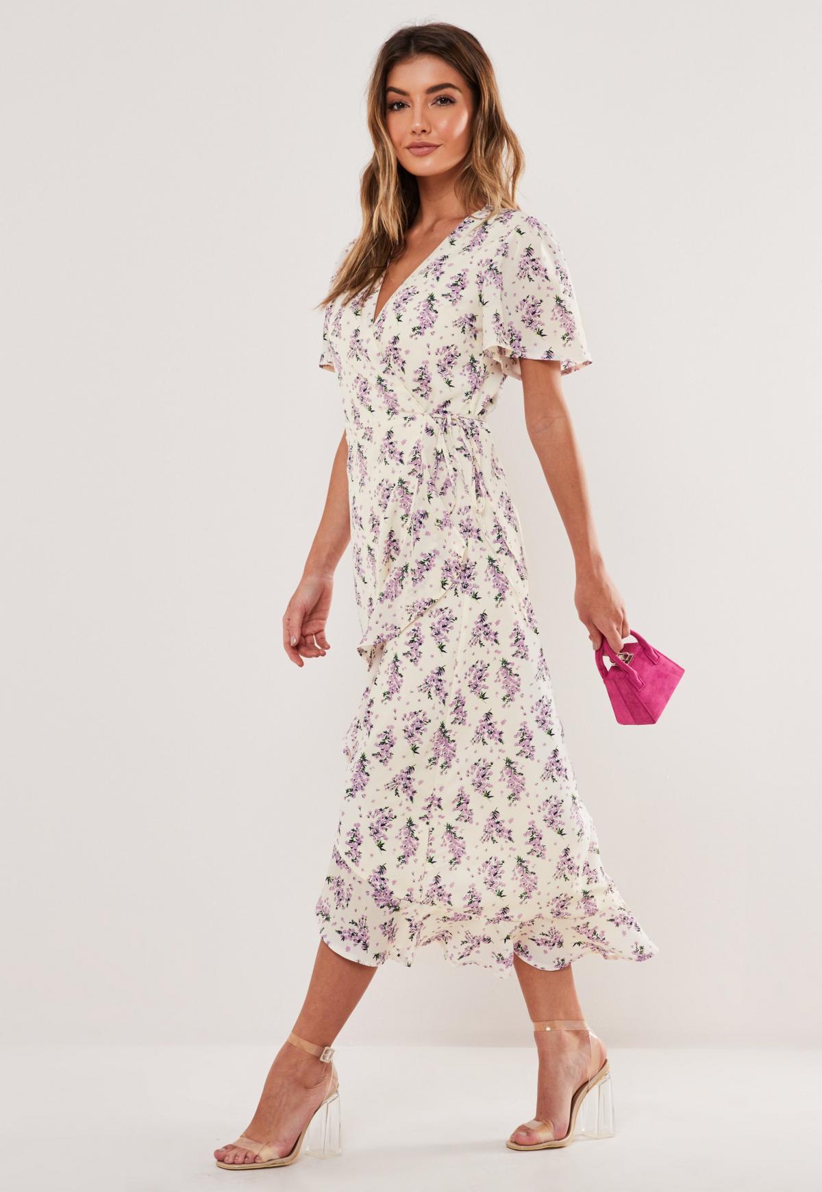 Tall Cream Lace Midi Dress - Tall from Little Mistress UK