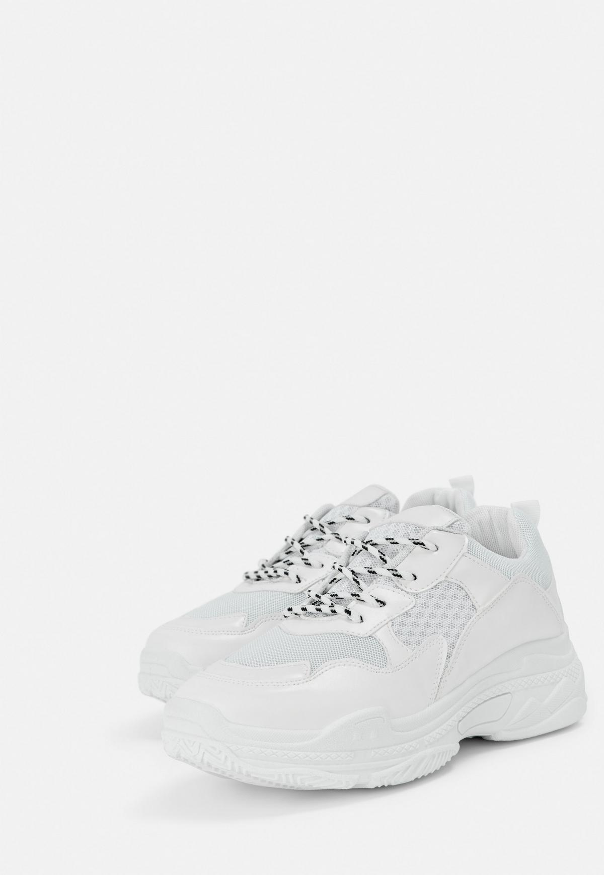 white shoes missguided