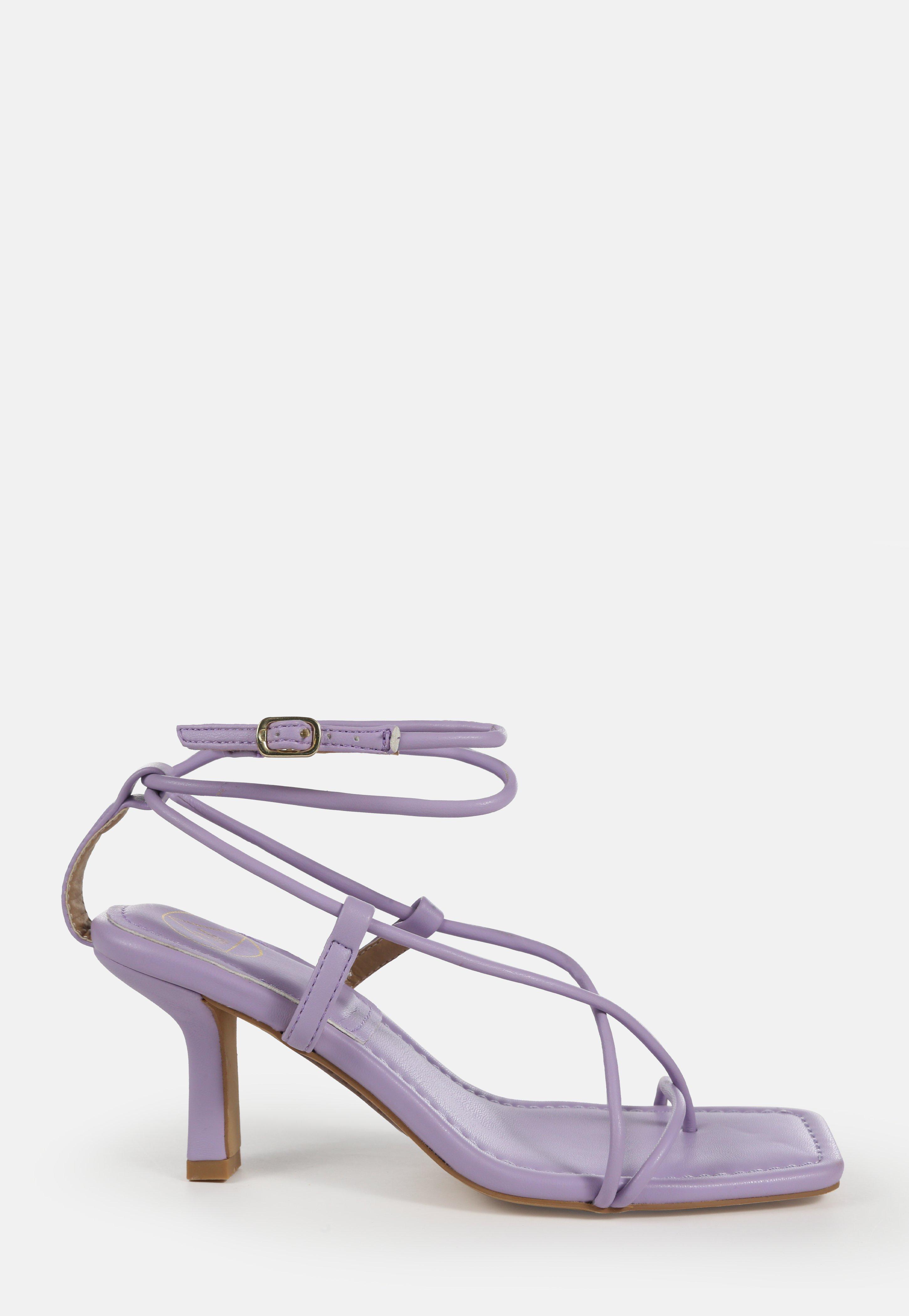 Mesdames Missguided Serpent Front Zip Pin Talon Chaussures UK 4 Entièrement neuf dans sa boîte Bleu