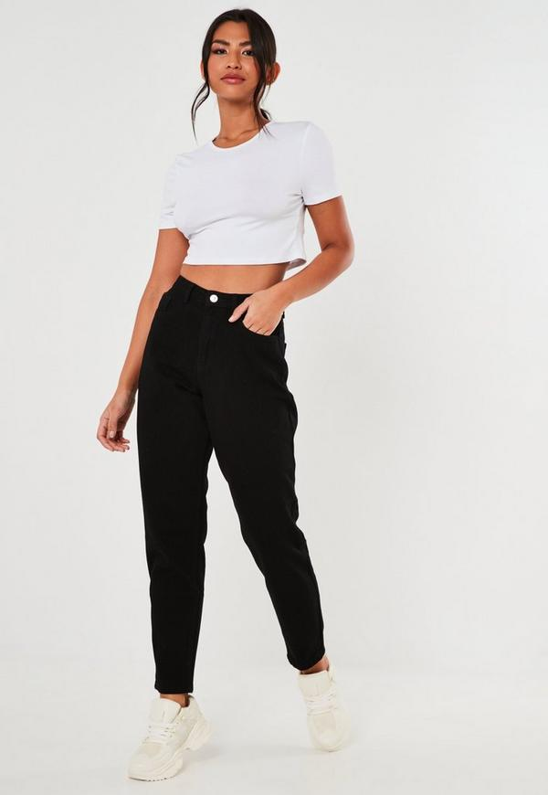 online here new lifestyle new varieties Black Riot High Waisted Mom Jeans
