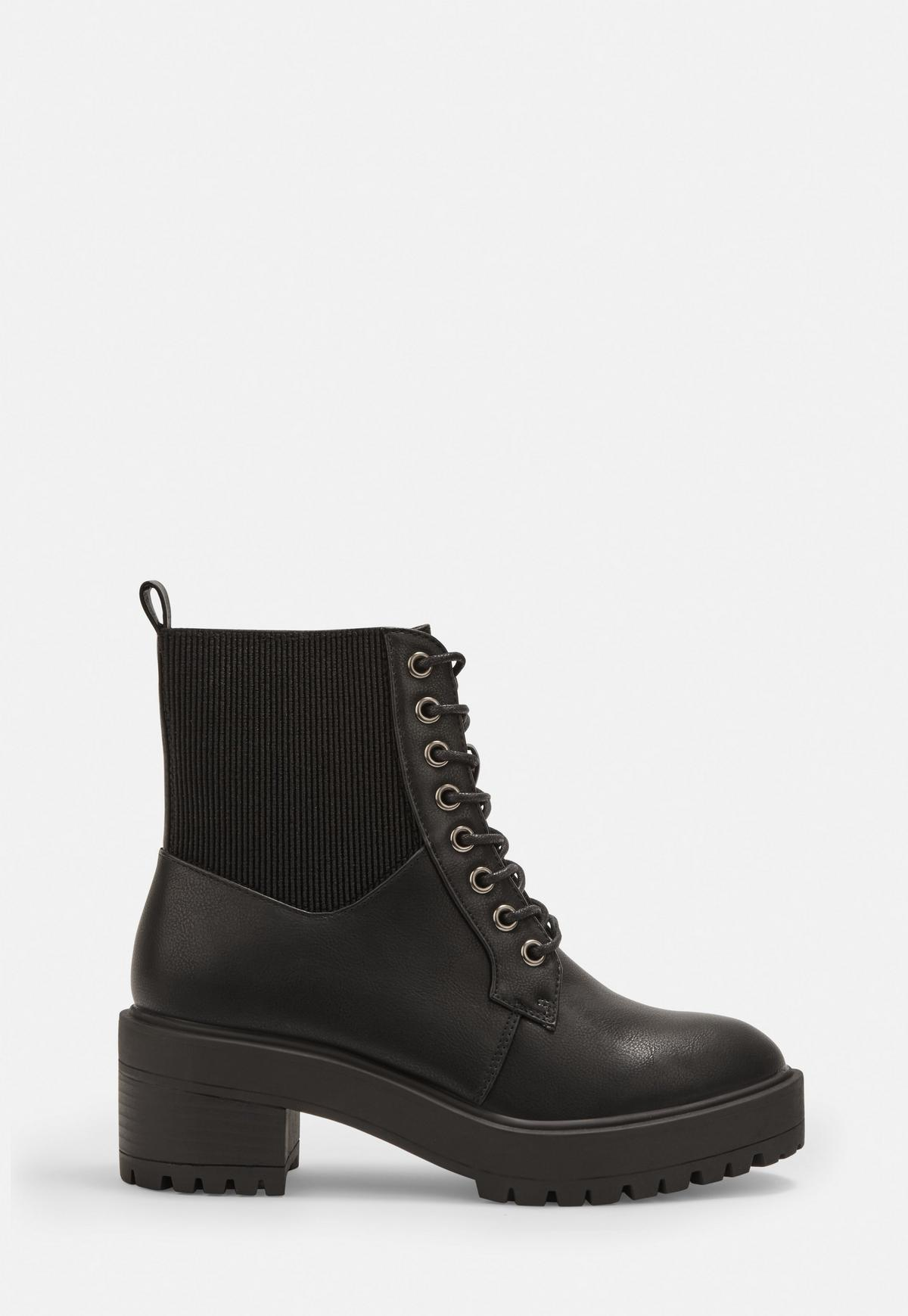 buying new purchase cheap reputable site Black Elasticated Top Ankle Boots