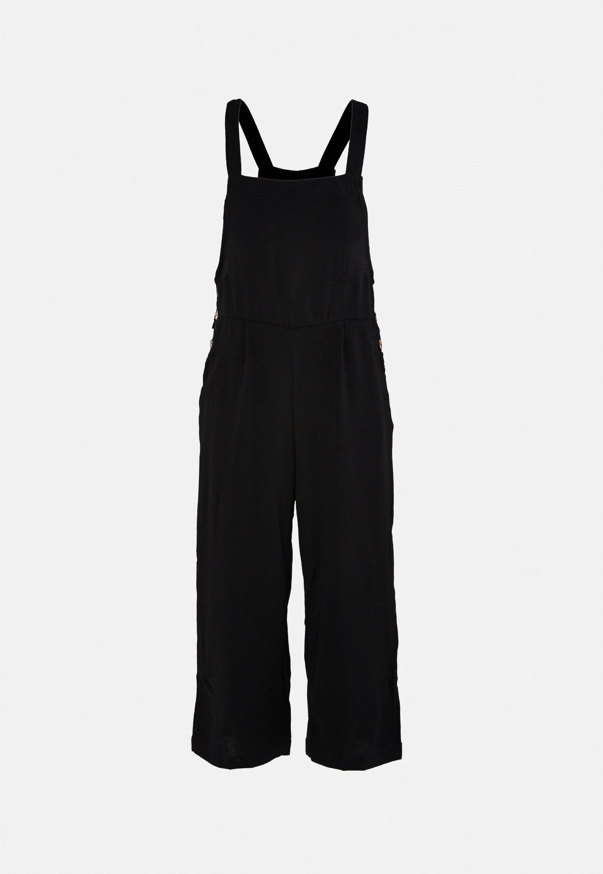 Black Dungaree Jumpsuit
