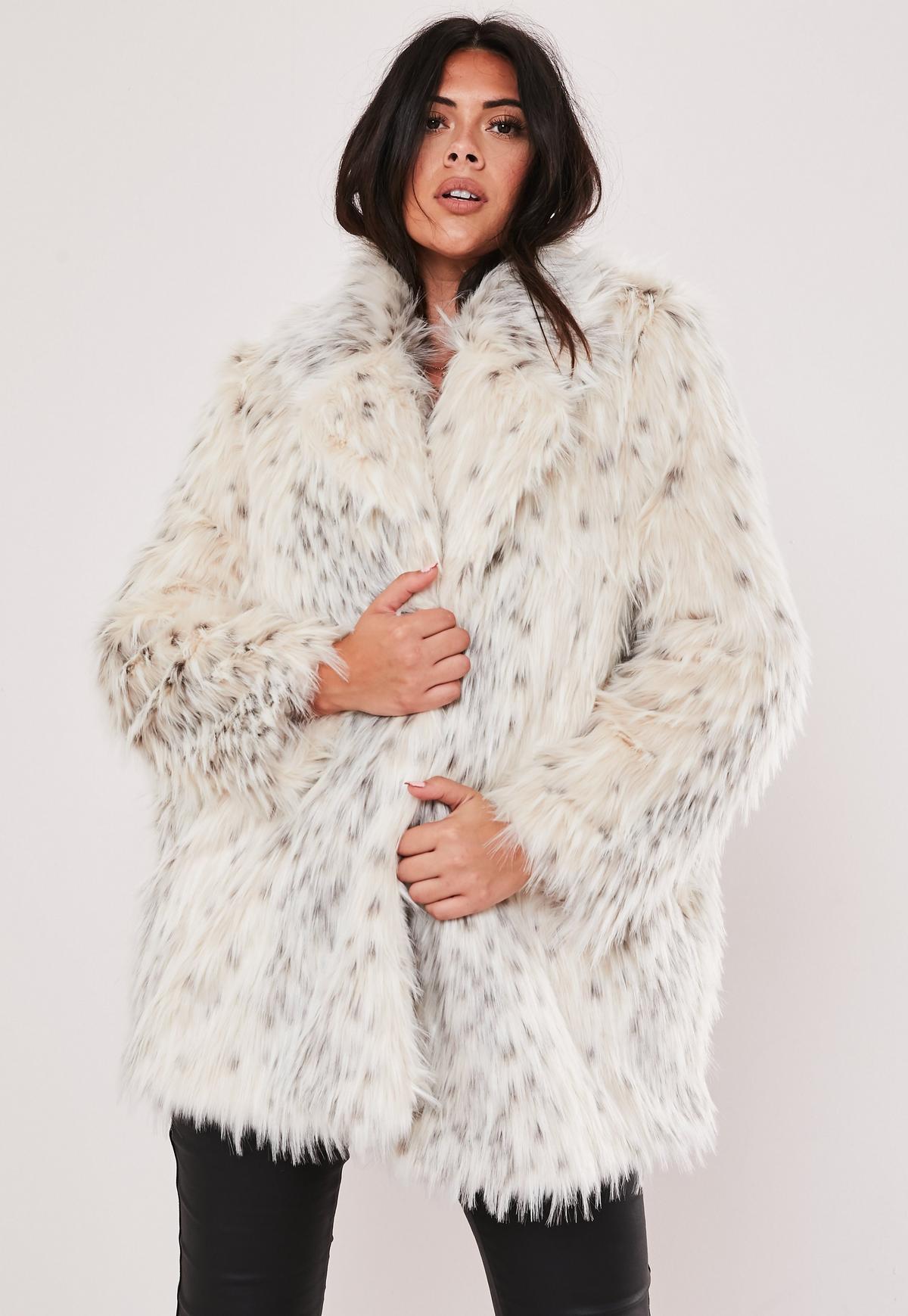 jakke faux fur