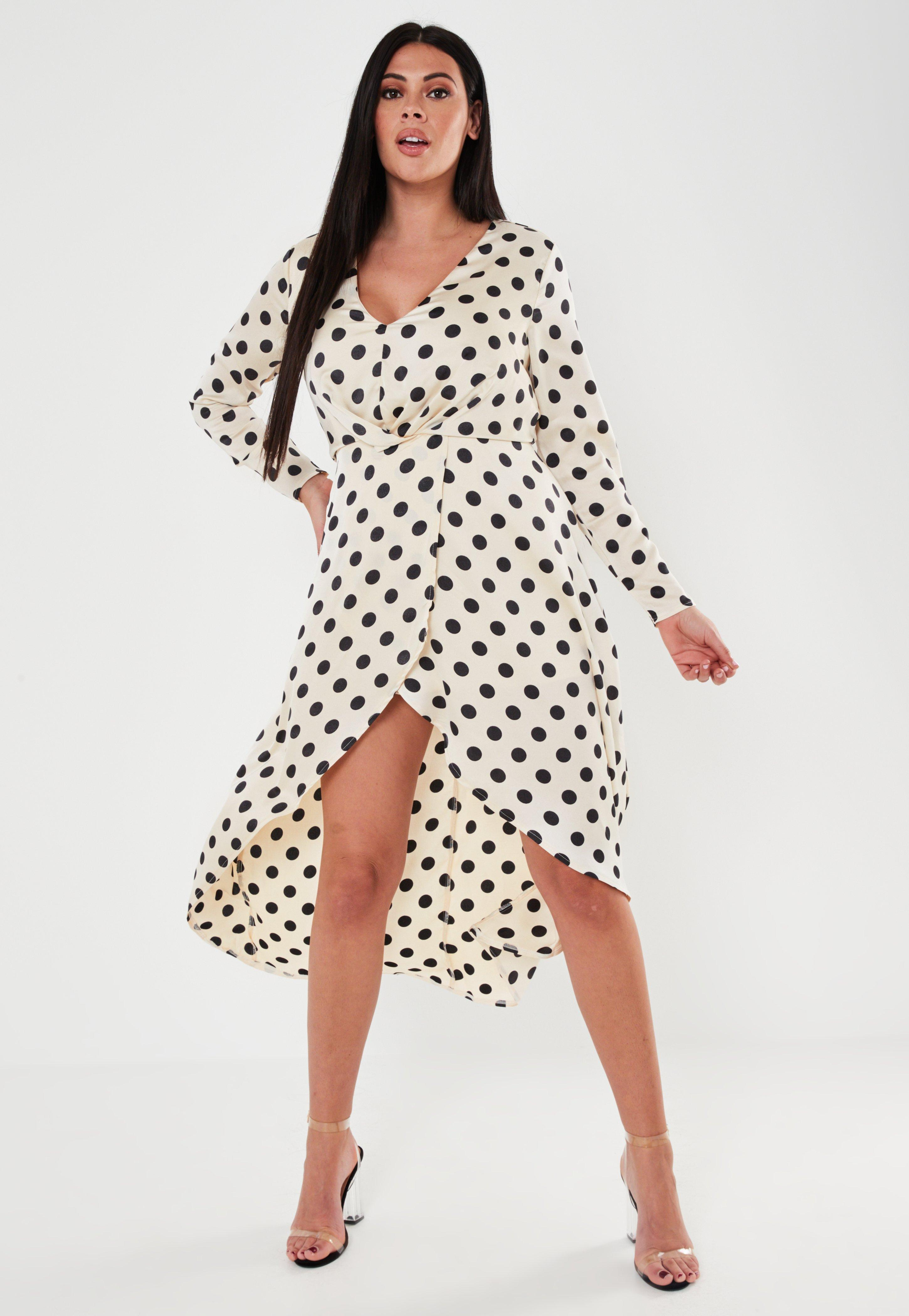 plus size champagne high low dress