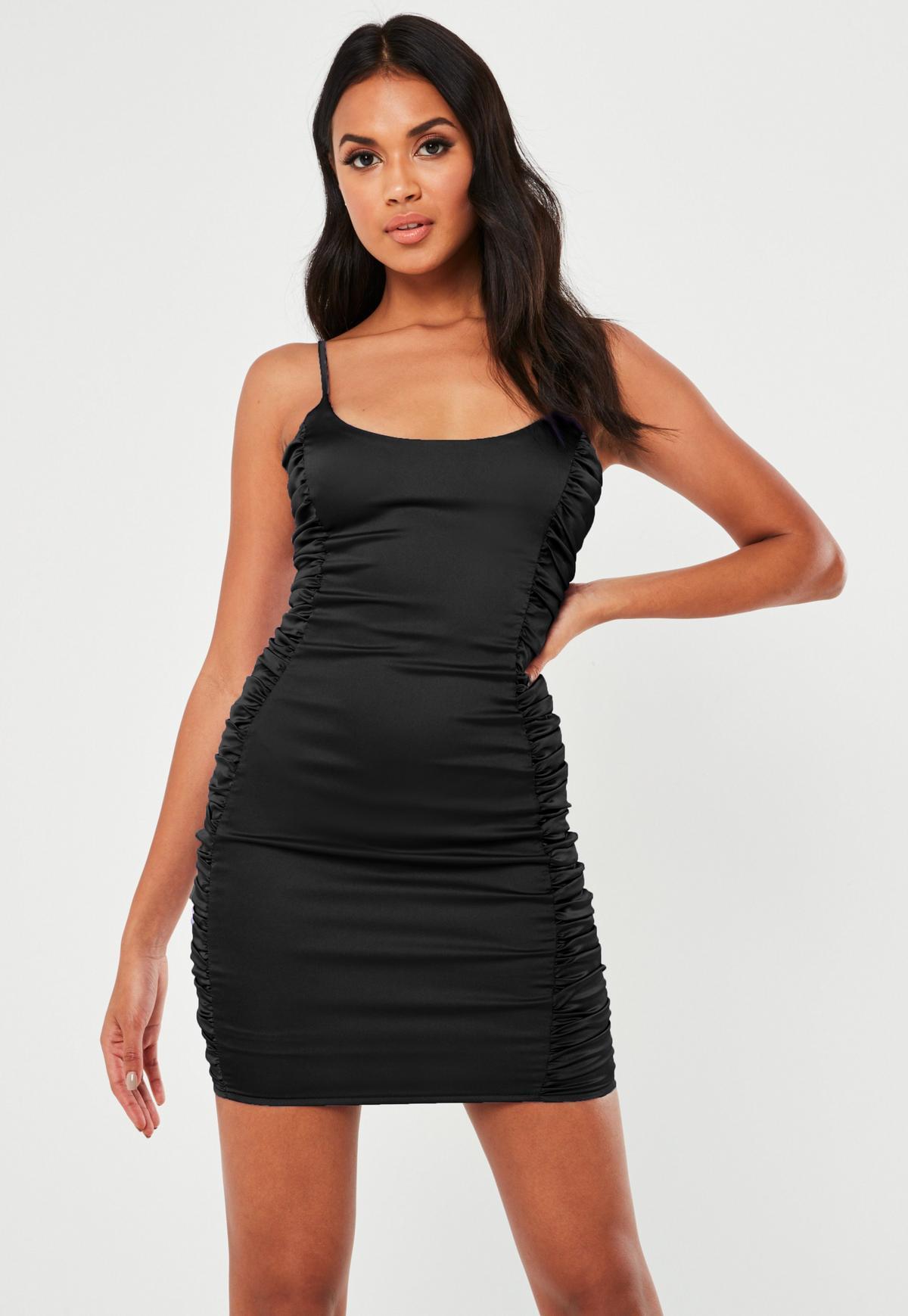 Xenia black bodycon dress with belt z force smith outfit ebay