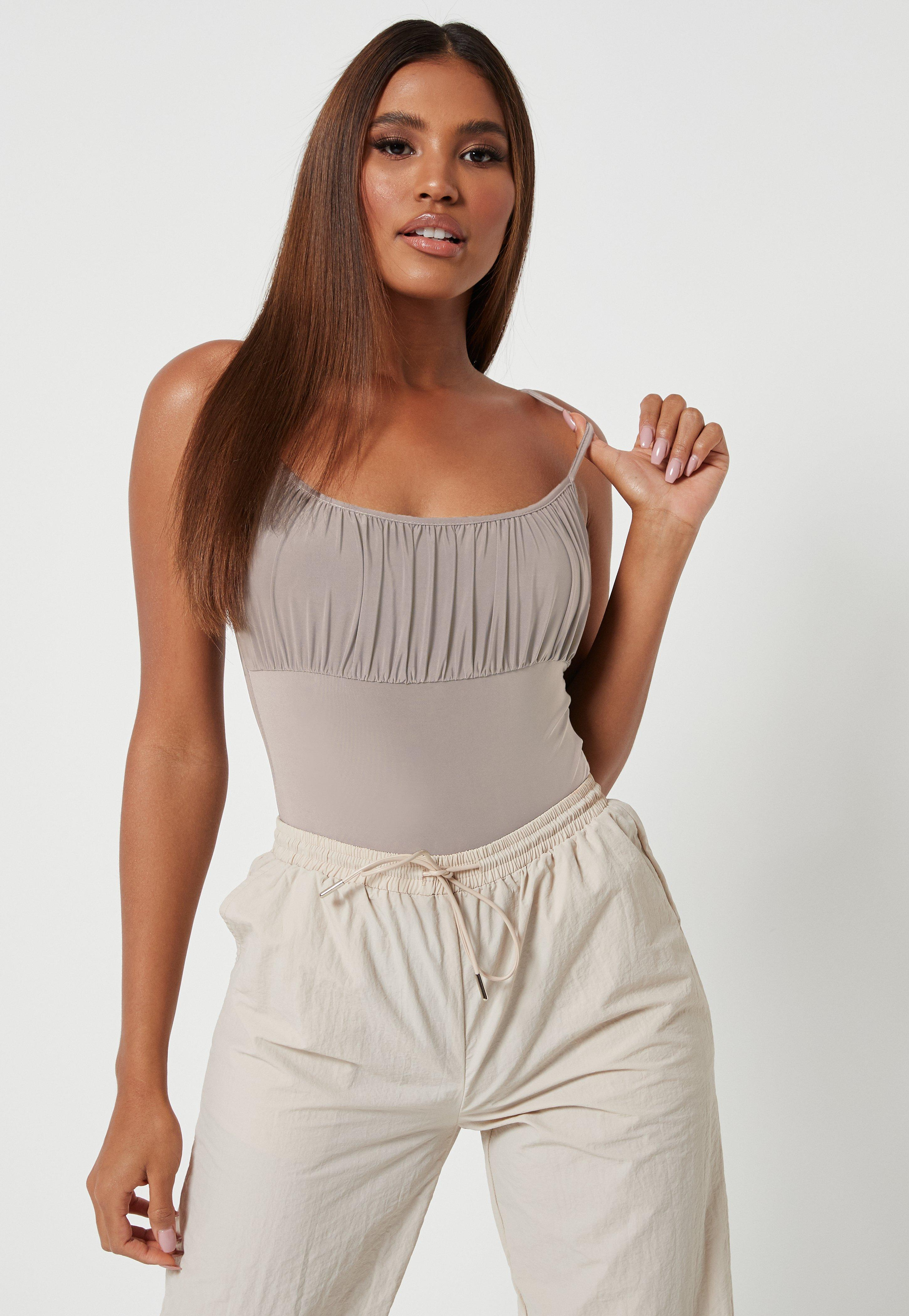 Ruched Tops Women S Ruched Shirts Missguided