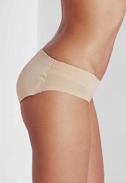 Rakila Padded Bum Pants In Nude