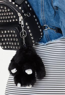 Black Bunny Keyring