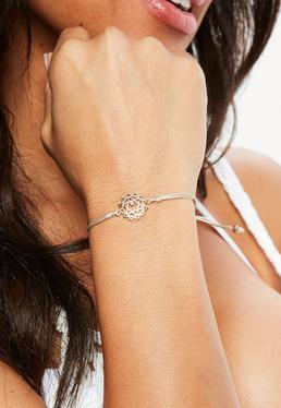 Peach Heart Chakra Bracelet