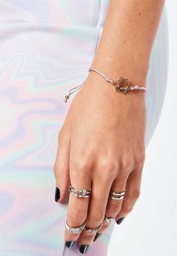 Pink Sacral Chakra Bracelet