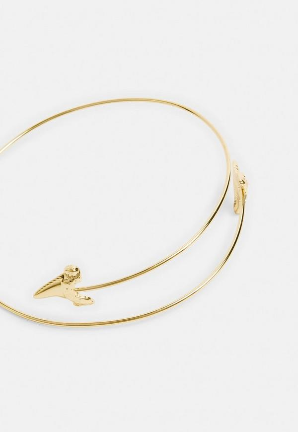 Gold Look Arrow Arm Cuff by Missguided