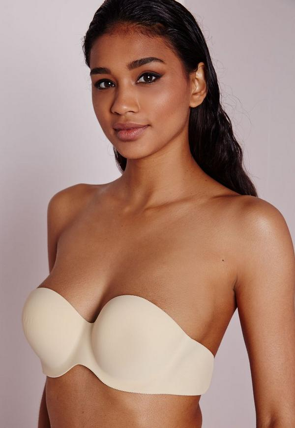 Kaley Strapless Backless Bra Nude