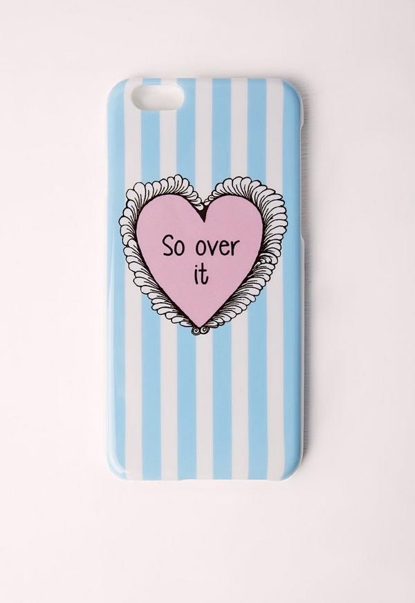 So Over It iPhone 5 Case Blue