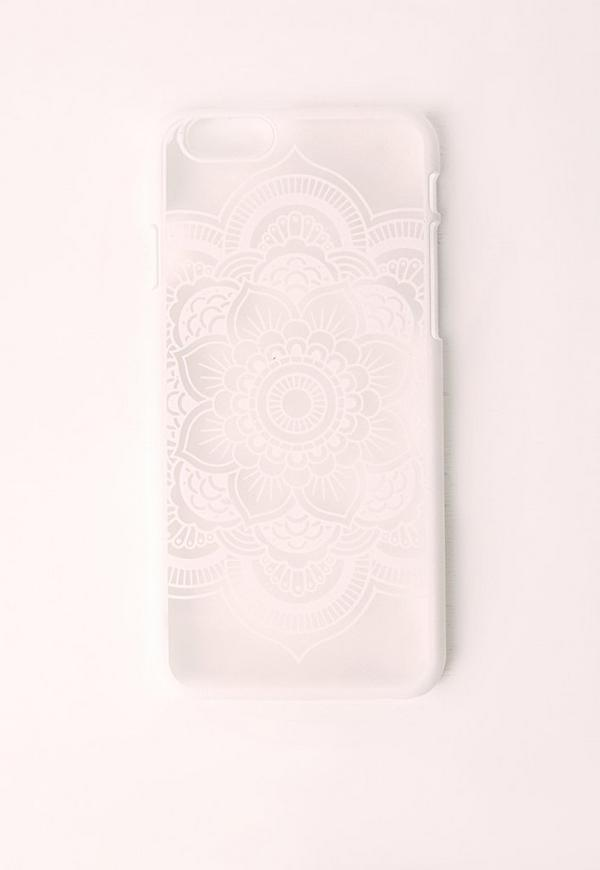 Mandala iPhone 6+ Case White