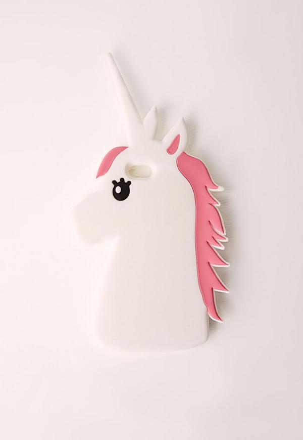 Unicorn Phone Case iPhone 5 White