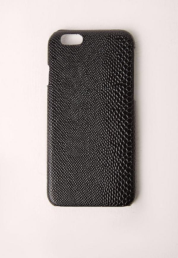 Black Snakeskin Iphone 5 Case