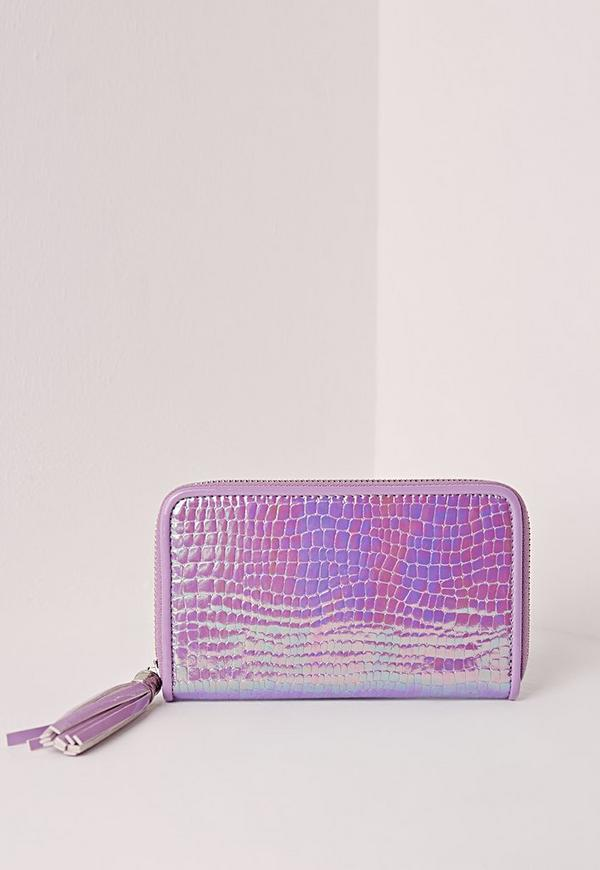 Holographic Purse Lilac