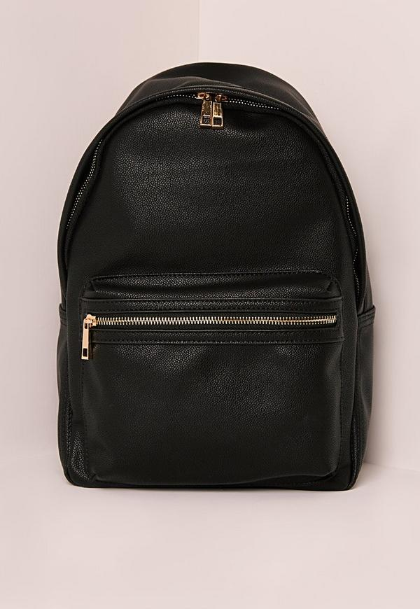 Sports Luxe Backpack Black