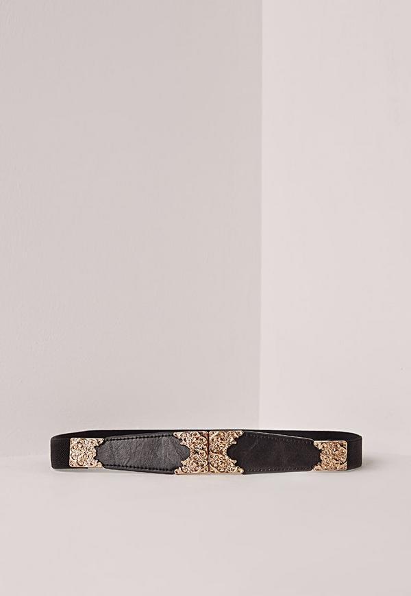 Baroque Trim Waist Belt