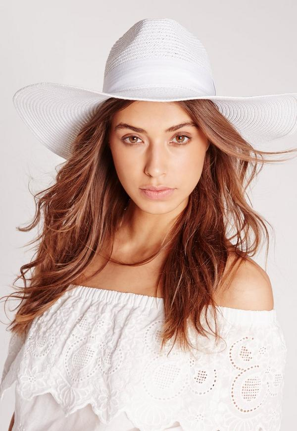 Miami Oversized Straw Fedora