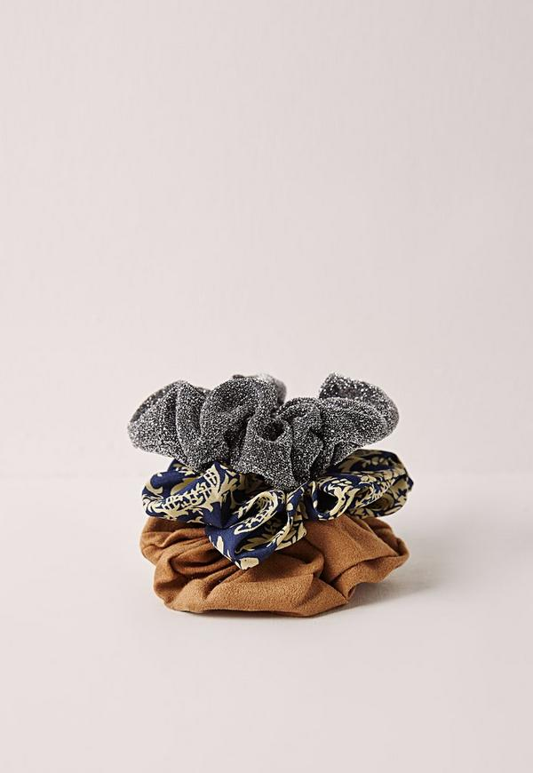 Three Pack Scrunchie Set