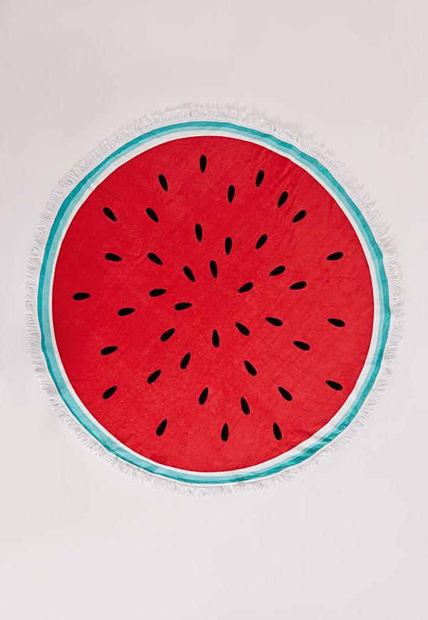Watermelon Towel Red