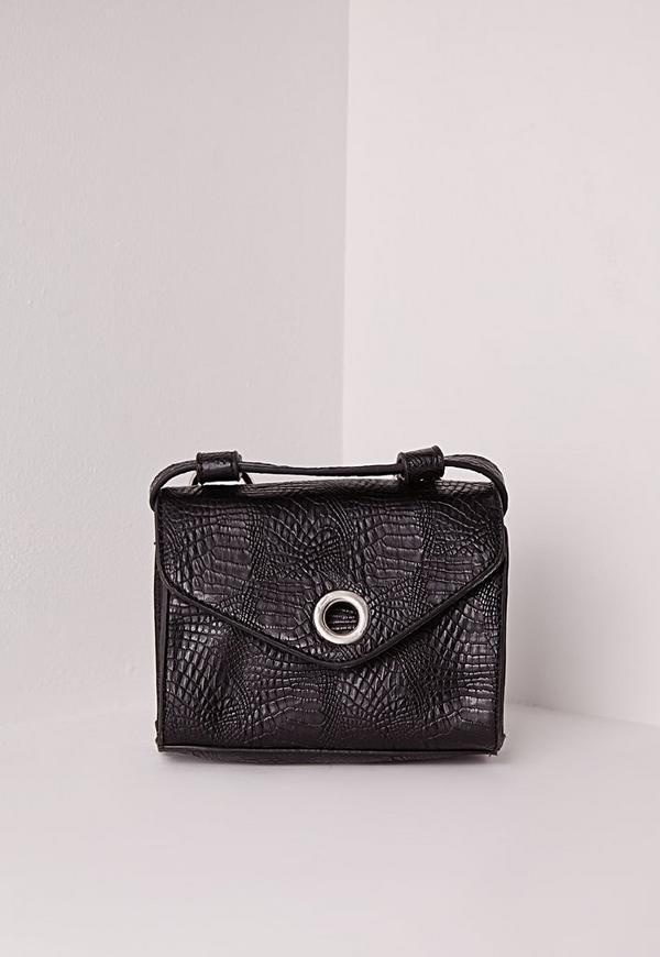Matte Croc 70's Waist Bag
