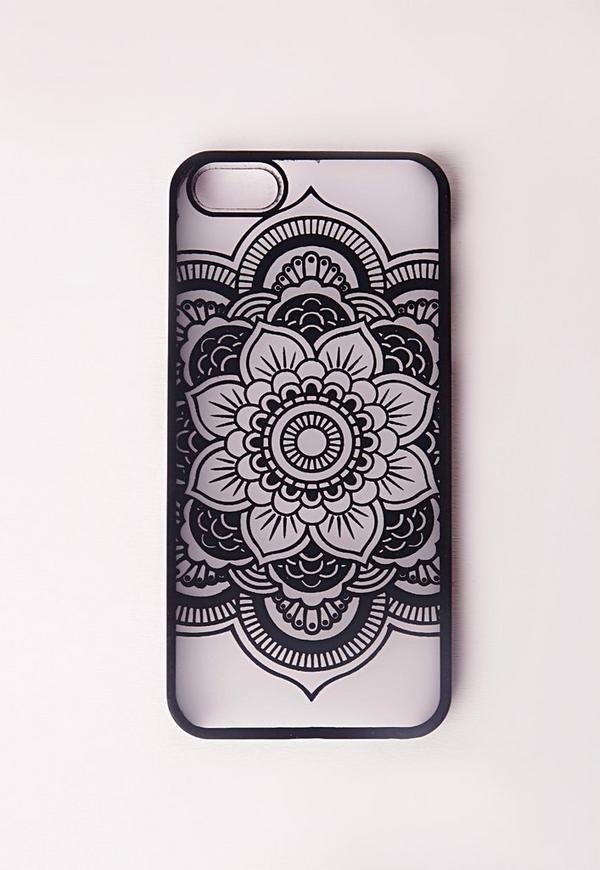 Mandala iPhone 5 Case Black