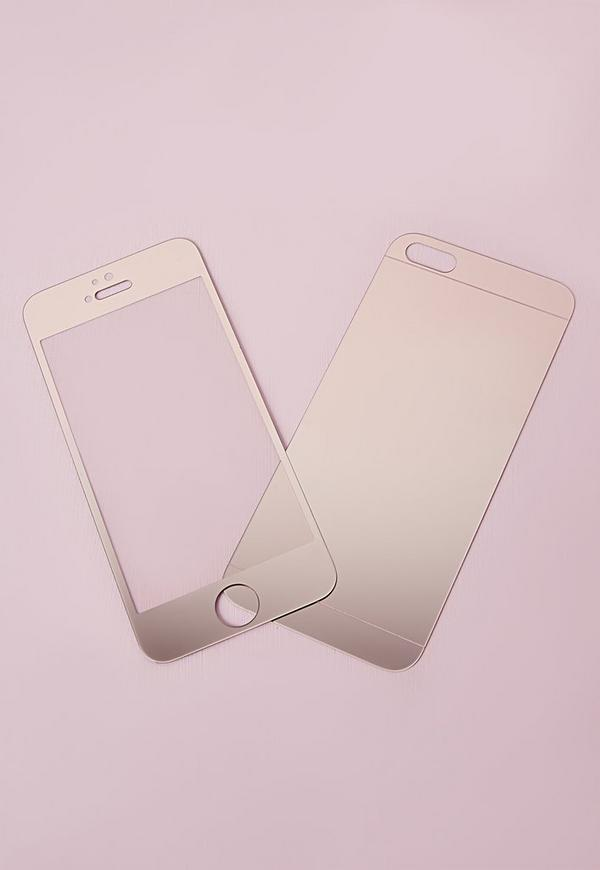 iPhone 5 Screen Protector Gold