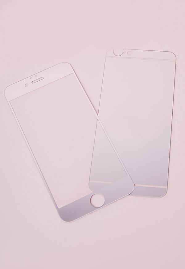 iPhone 6+ Screen Protector Silver