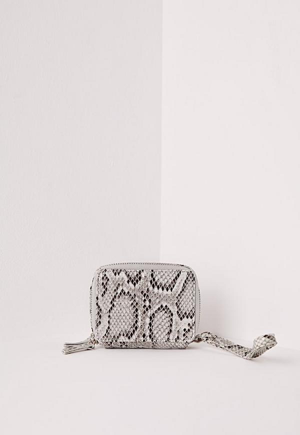 Mini Box Snake Purse