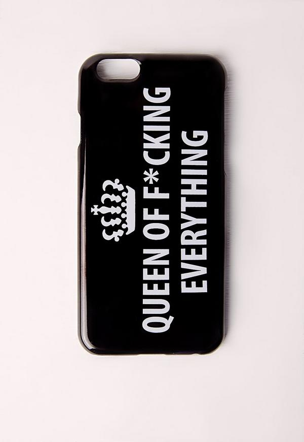 Queen of everything Black Iphone 5 case