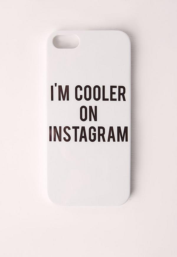 Instagram White iPhone 5