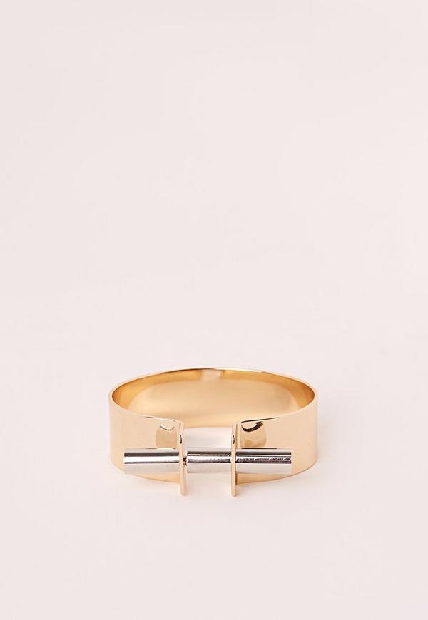 Screw in Cuff Bracelet