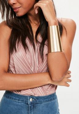 Classic Arm Cuff Gold