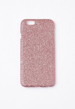 Pink Glitter iPhone 6 Case