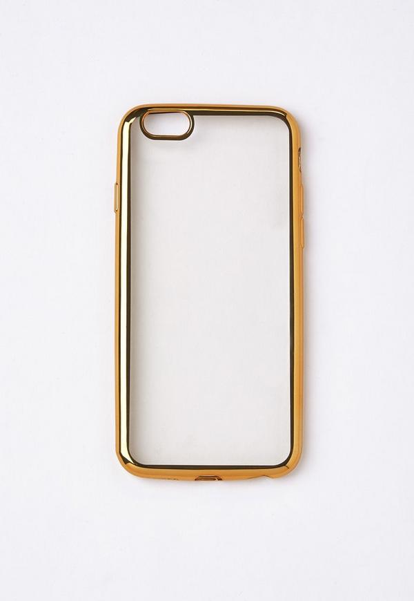 Gold Metallic Edge iPhone 6 Case
