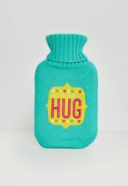 Niebieski termofor Hug