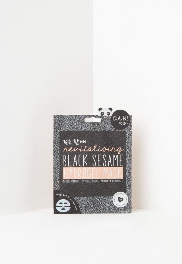 Oh K! Black Sesame Face Mask