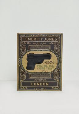 Bac à glaçons noir pistolets