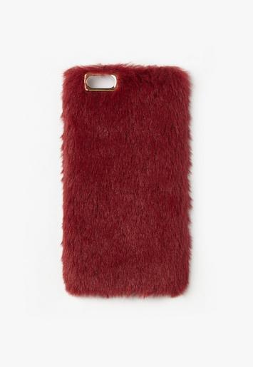 Faux Fur Iphone  Case