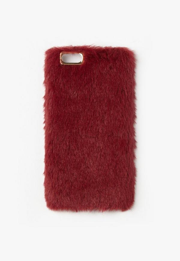 Burgundy Iphone  Plus Case