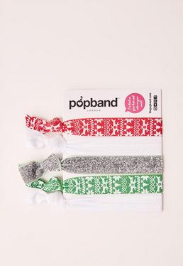 Christmas Popband 5 Pack