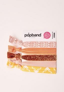 Pack de 5 élastiques Popband