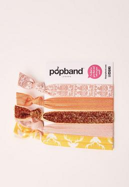 Popband 5 Pack Ginger Bread