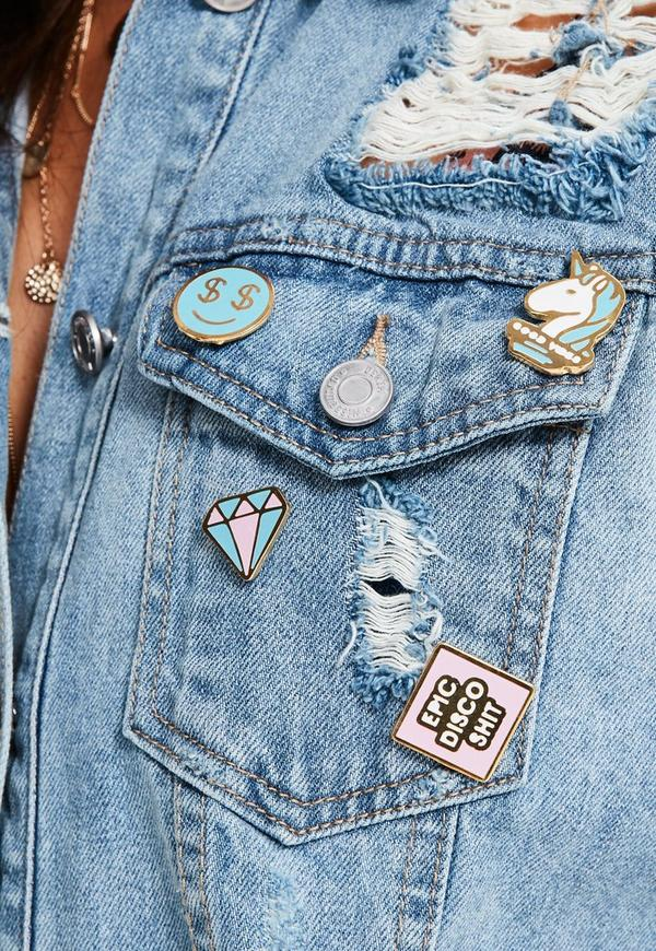 Epic Disco Sh*t Enamel Pin Badge Pack